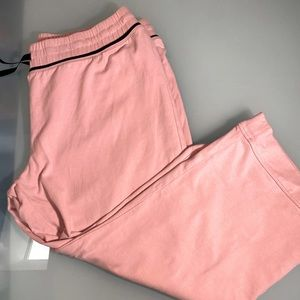 Mexx Capris actileisure pink with black tie